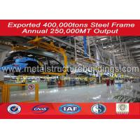 Wholesale Fast Build Pre - Engineered Steel Structure Warehouse , Prefab Metal Buildings from china suppliers
