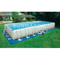 Buy cheap Stainless Steel Bracket Portable Swimming Pools In Inside Or Outside from wholesalers
