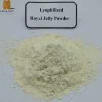 Buy cheap Food Grade 6% Lyophilized high quality 10-HDA Organic bee Royal Jelly Powder for sale from wholesalers