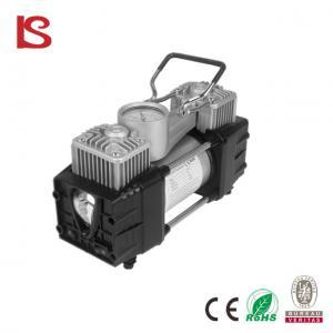 China 12 v air compressor car air pump with LED light Air compressor 12v Car inflator BS-8002 on sale