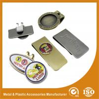 Buy cheap Customized Magnetic Metal Golf Ball Markers / Hat Clip Marker from wholesalers