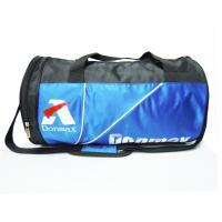 Buy cheap Blue / Black Fashion NylonSports Bag With Shoes Pockets And Basketball Bag from wholesalers