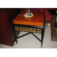 Buy cheap Black Wooden Modern Wood Coffee Tables For 5 Star Hotel Lobby / Bedroom from wholesalers