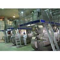 China 3000L/H Complete UHT Milk Processing Plant For Turn Key Projects on sale