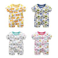 Buy cheap Soft Cute Newborn Baby Clothes Short Sleeve Bodysuit Baby Boys And Girls from wholesalers