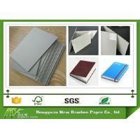 Stabilize gsm Even Thickness Uncoated 3mm Grey Cardboard for Bookcover Manufactures