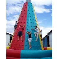 Buy cheap Fire - retardant commercial PVC Inflatable Climbing Wall / Inflatable Climbing mountain from wholesalers