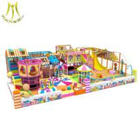 Buy cheap Hansel commercial used soft play center indoor playgrounds equipment children's play mazes from wholesalers