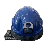 Buy cheap Face Recognition Smart Thermal Imaging Safety Helmet High Precision Accuracy from wholesalers