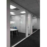 Wholesale Concealed Edge Demountable Glass Partitions Easy Operation High Safety from china suppliers