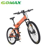 Buy cheap 27.5 Double Layer Aluminum Alloy Rim folding electric mountain bike electric mountain bike for adult from wholesalers