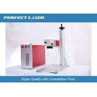 10w 20W Desktop Laser Etching Equipment For Stainless Steel Metal , Marking Systems Manufactures