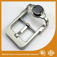 Wholesale Unique Zinc Alloy Metal Custom Belt Buckle Silver Pin Belt Buckle GLT-12008 from china suppliers