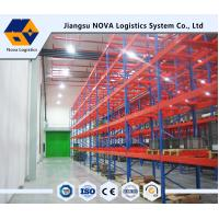Buy cheap High Strength Heavy Duty Pallet Racking Adjustable Layer Height Custom Size from wholesalers