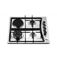 China Four Burners Gas Oven And Hob , Gas Top Electric Oven 201 Stainless Steel Panel on sale