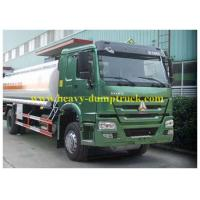 Howo Waste Chemical Tanker Truck 10 CBM for Suction Liquid , Fuel Tanker Trailer Manufactures