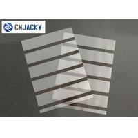 Buy cheap A4 0.08mm Coated Overlay Film Smart Card Material Magnetic Strip With Hi-Co Lo-Co from wholesalers
