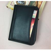 Buy cheap A5 Size Sheep Skin Imitation Leather Document Folder With Front Pocket from wholesalers