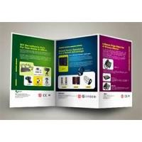 Wholesale OEM small colorful full color artpaper short run booklet brochure digital printing service from china suppliers