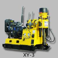 XY-3 deep water well drilling rig to do geotechnica sitel investigation