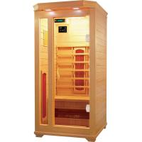 Buy cheap personal mini far infrared sauna room with hemlock wood from wholesalers