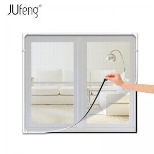 China Adjustable Freedom DIY Magnetic Fiberglass Fly Screens Window on sale