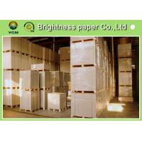 Quality Smoothness Coated Board Paper Clay Coated News Back OEM Avaliable for sale