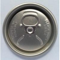China Easy Open Coca Cola Can Lid Soda Can Cap Lids 202 206 200 With QR Code Ring on sale
