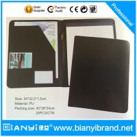 Buy cheap A4 Leather Presentation Folder Organizer from wholesalers