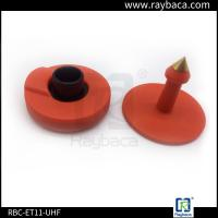 Buy cheap Red Non Removable UHF RFID Tags Two Pieces 860-960 Mhz Frequency from wholesalers