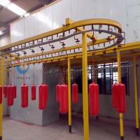 Buy cheap Complete Powder Coating Line Powder Coating System For Fire Extinguisher from wholesalers