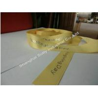Buy cheap 1 special gold foil custom printed grosgrain ribbons wholesale from China supplier from wholesalers