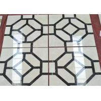 Buy cheap Polished Marble Floor Tile , Natural Stone Building Materials Modern Design from wholesalers