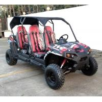 Buy cheap UTV Golf Cart 4 Seater 300cc Gas Utility Vehicles from wholesalers