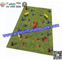 Buy cheap PVC tarpaulin Inflatable Paintball Bunker , Inflatable Bunkers Paintball from wholesalers