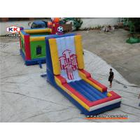 Buy cheap CE Body Velcro Wall inflatable amusement park For Jumping Hire from wholesalers