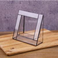 Buy cheap Vertical Glass Photo Frame Glass Square Picture Display Frame from wholesalers