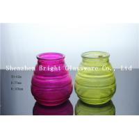 Buy cheap Colorful Glass Candle Holder Wholesale from wholesalers