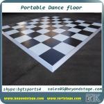 Buy cheap 462x462x25mm PVC dance floor plastic portable flooring wedding/party/indoor/outdoor/dj/hotel/bar/disco bar dance floor from wholesalers