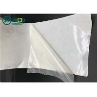 Wholesale Semi-transparent TPU hot melt film with release paper for garment adhesive from china suppliers
