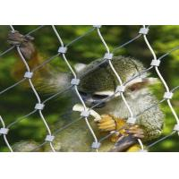 Buy cheap 7x7 7x19 Stainless Steel Zoo Mesh Animal Enclosure Netting For Animal Cage product