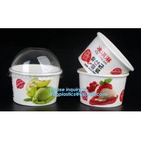 Buy cheap Customized compostable biodegradable 12 oz dessert icecream ice cream cup with lid for ice cream icecream bagease packa from wholesalers