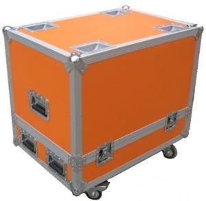 Wholesale Orange 12U Flight Case Hardware Plastic Cases For DJ Mixer Case from china suppliers