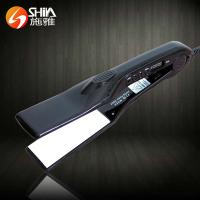 Buy cheap Professional cold solar digital LCD display top ceramic hair straightener falt iron from wholesalers