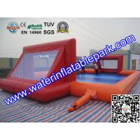 Buy cheap Large Inflatable Sport Games , Inflatable Football Playground Game Rental from wholesalers
