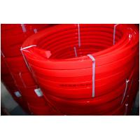Red Transmission Polyurethane Flat Belt Low Compression Set Industry Textile Machines Manufactures