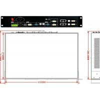 Buy cheap High - Definition Display Wall Controller , 2x2 Video Wall Processor A8 Card from wholesalers