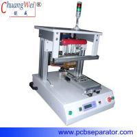 Buy cheap precision type  translatory shift  single-position hot bar welding machine with pulse heat CWPP-1A from wholesalers