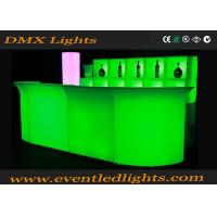 Buy cheap Plastic Green Battery Operated Luminous Light Bar Counter For Hotel Resorts from wholesalers