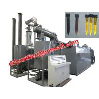 Buy cheap Car Motor Oil Vacuum Distillation Machine With Black Waste Engine Oil Recycle System from wholesalers